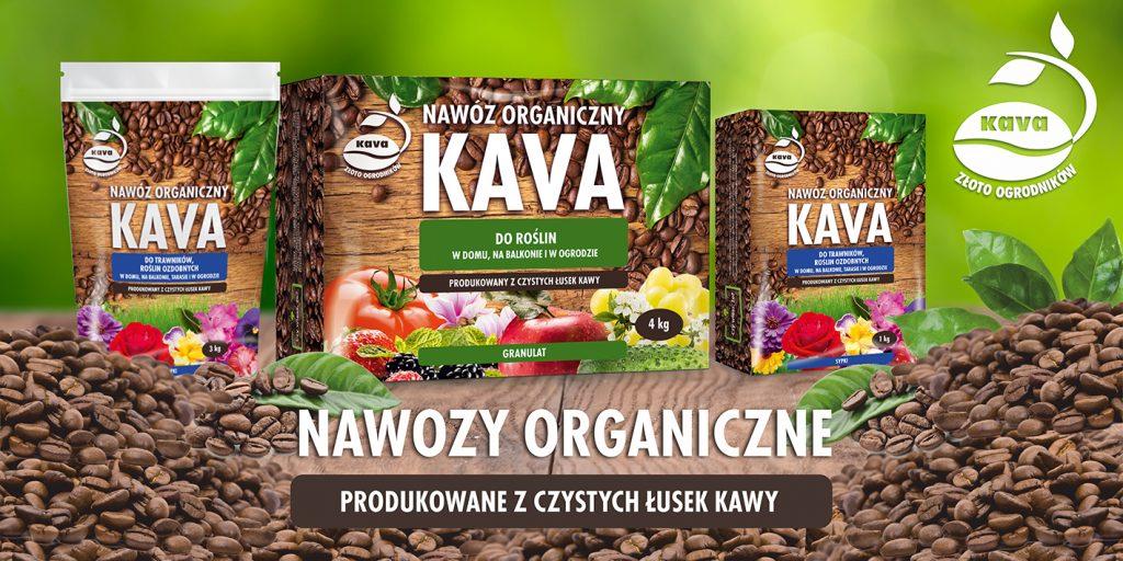 Nawóz organiczny wyprodukowany z czystych łusek kawy